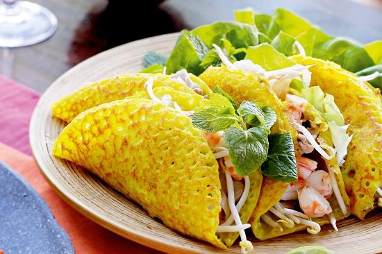 Bánh xèo Việt Nam lọt top 10 món ăn đường phố đáng thử nhất Thế Giới