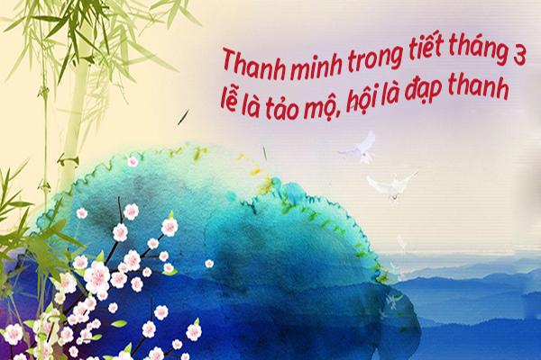 Ý nghĩa tết Thanh Minh