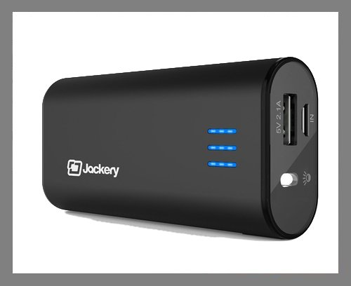 A portable battery