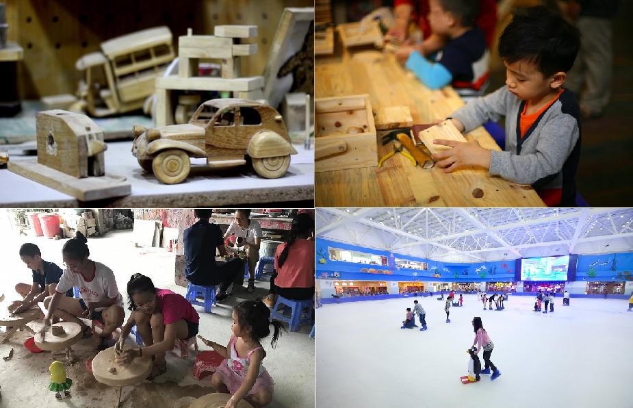 18 điểm vui chơi, giải trí, trải nghiệm cuộc sống ở Hà Nội hè 2017