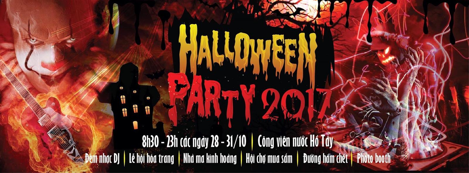 Những điểm đi chơi halloween tại Hà Nội 2017