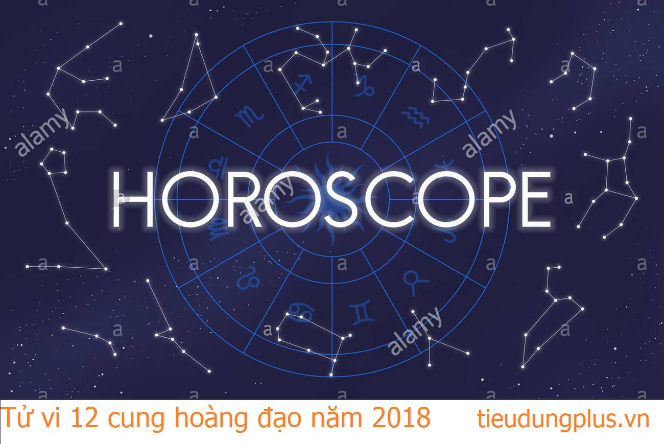 Tử vi 12 cung hoàng đạo 2018