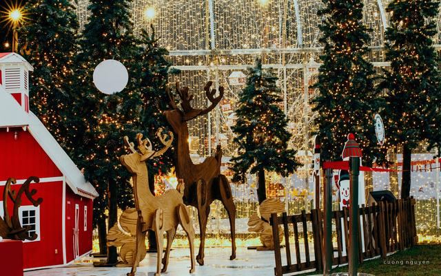 Ecopark điểm vui chơi Giáng sinh lý tưởng cho cả gia đình