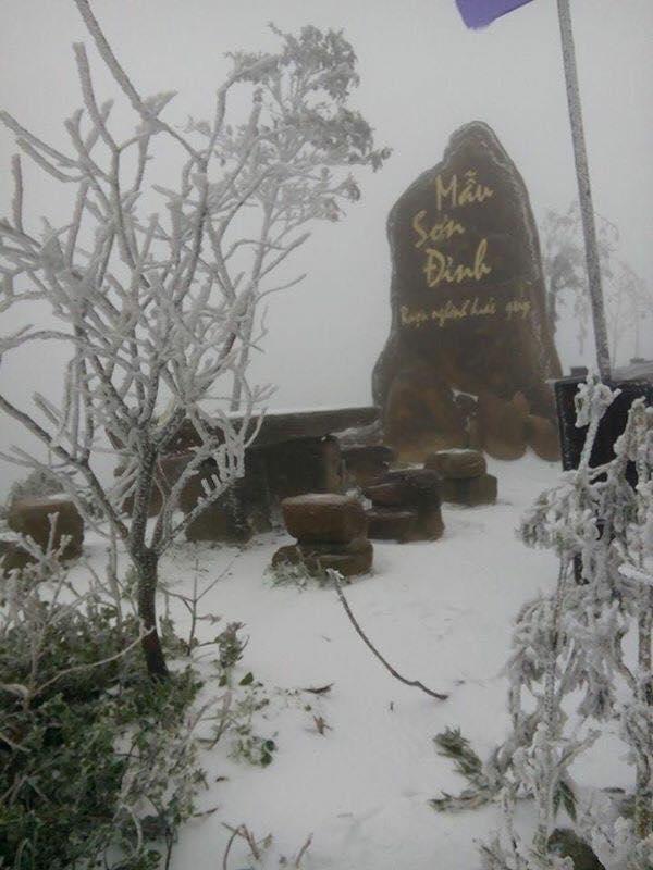 Tháng 1 có nhiều khả năng sẽ có băng tuyết xuất hiện ở các tỉnh miền núi phía bắc khi nhiệt độ giảm sâu
