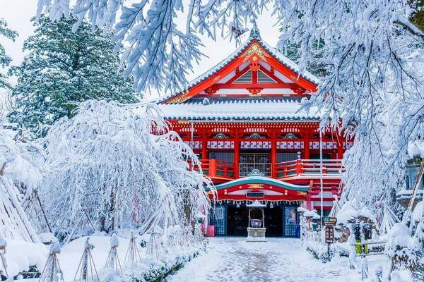 Du lịch Nhật Bản tháng 1
