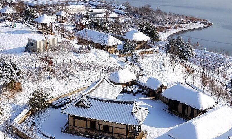 Du lịch Hàn Quốc tháng 1