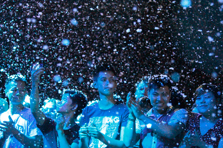 Mừng năm mới ở Keangnam Landmark72