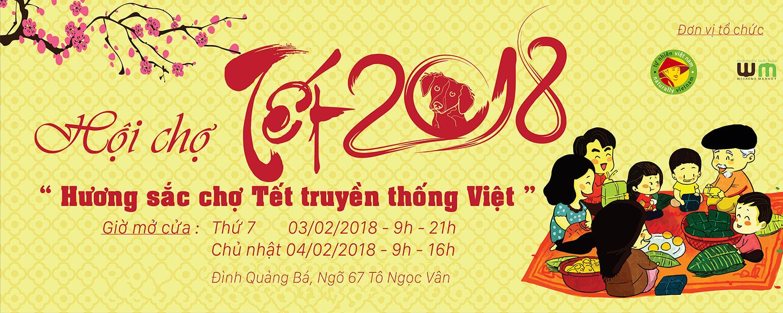Hội chợ Tết 2018 - Hương sắc chợ Tết truyền thống Việt