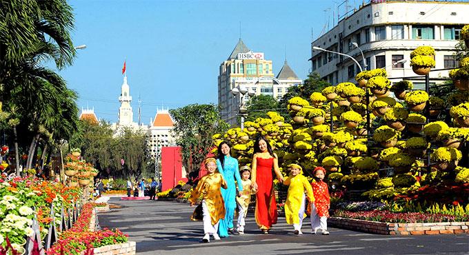 Các hội chợ Xuân hấp dẫn nhất tết Mậu Tuất 2018 tại TPHCM