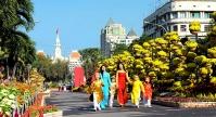Các hội chợ Xuân hấp dẫn nhất tết Mậu Tuất 2018 tại Hồ Chí Minh