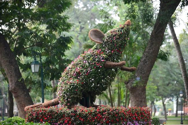 12 con giáp tại công viên Thống Nhất - Con Chuột