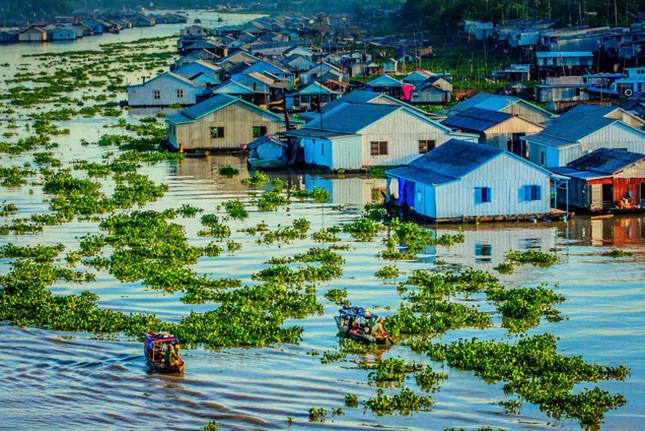 Đồng bằng sông Cửu Long (Ảnh: Kienviet)