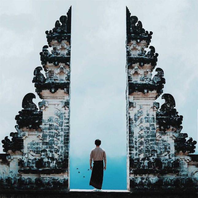 Đền Pura Lempuyang Luhur - chiếc cổng trời bước ra từ thần thoại - ảnh 9