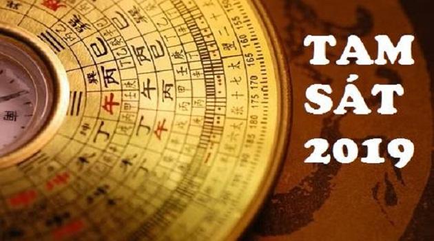 Phương vị Tam Sát năm 2019 nằm ở đâu? và cách hóa giải Tam Sát hiệu quả