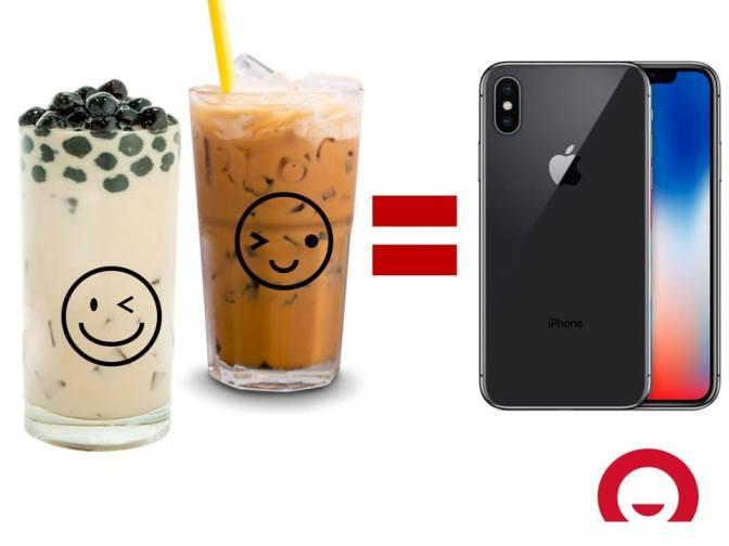 Nhịn cafe, mua iPhoneX