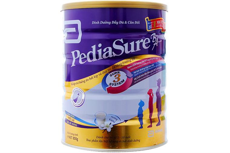 Những lưu ý khi cho con uống sữa bột PediaSure của  Abbott