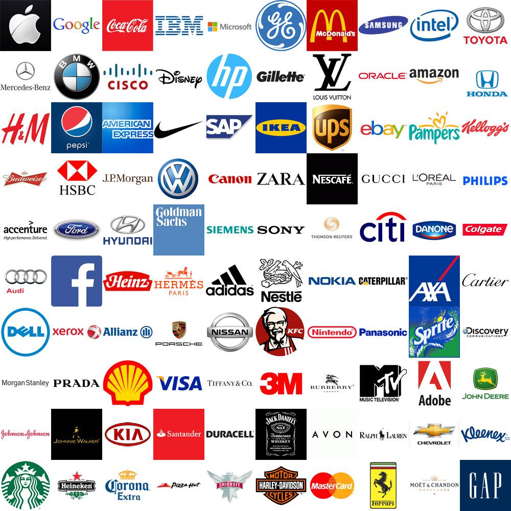 Các thương hiệu đình đám thế giới có giá trị bao nhiêu?