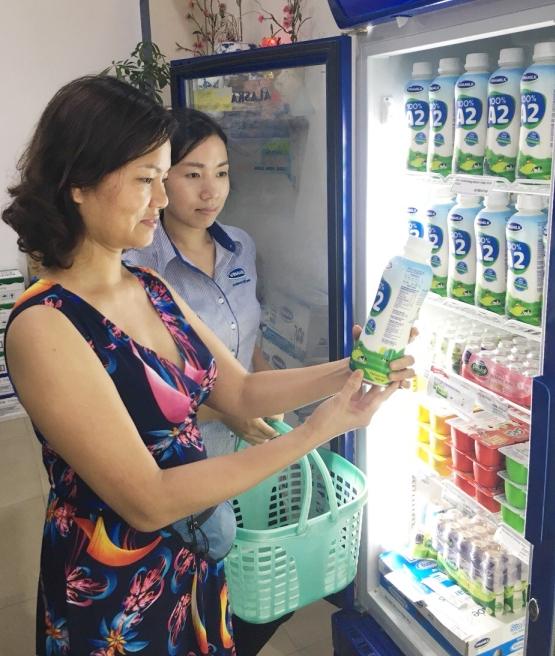 Vinamilk tiên phong giới thiệu sữa tươi A2 đầu tiên tại Việt Nam