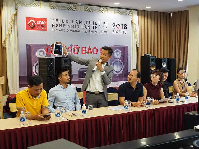 Triển lãm thiết bị nghe nhìn Việt Nam AVShow 2018 sắp diễn ra với hàng loạt bất ngờ