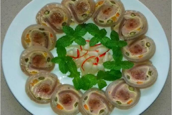 Từ da lợn, chế biến hàng tá món ăn ngon