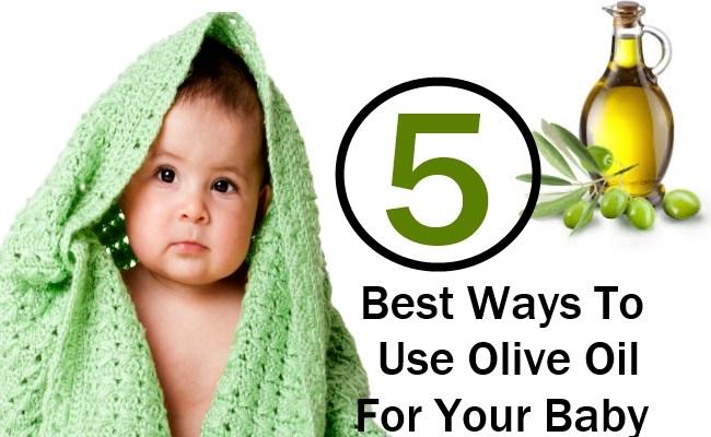 Cách sử dụng dầu oliu cho bé ăn dặm và chăm sóc cơ thể