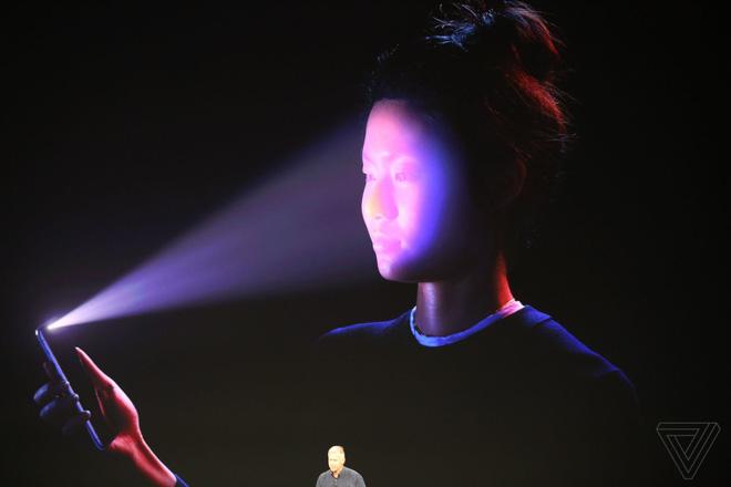 Công nghệ nhận diện khuôn mặt là tính năng vượt trội của iPhone X