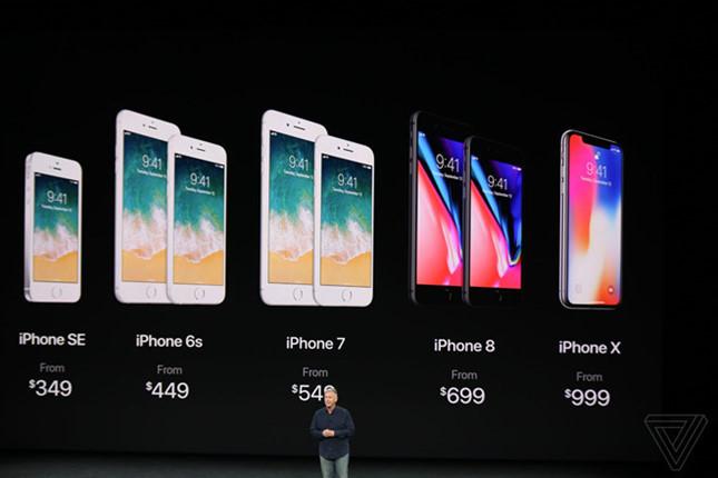 Apple tung bộ 3 iPhone mới với các mức giá chênh lệch