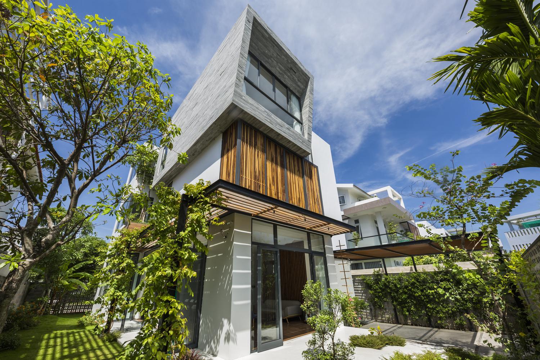 Nhà đẹp Nha Trang xuất sắc đứng trang đầu tạp chí kiến trúc ngoại
