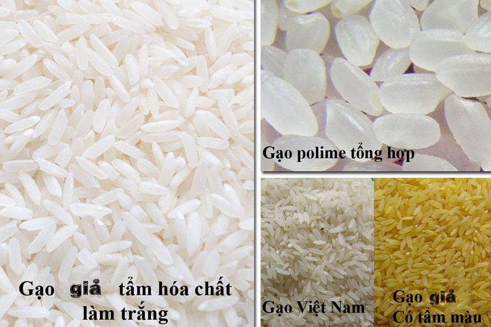 6 cách phân biệt gạo thật, gạo giả bán tràn lan trên thị trường