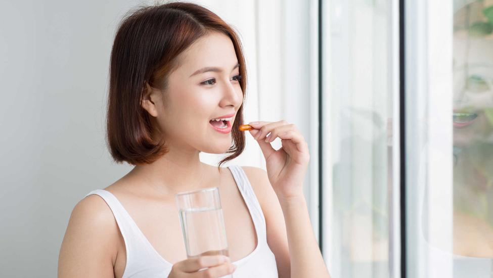 Thời điểm vàng để uống các loại thực phẩm chức năng làm đẹp