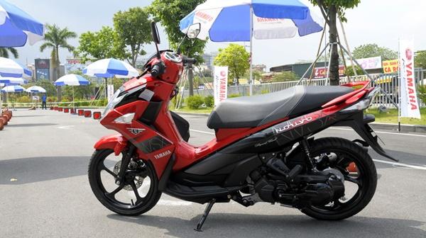 Bảng giá xe máy Yamaha tháng 4/2018 cập nhật mới nhất