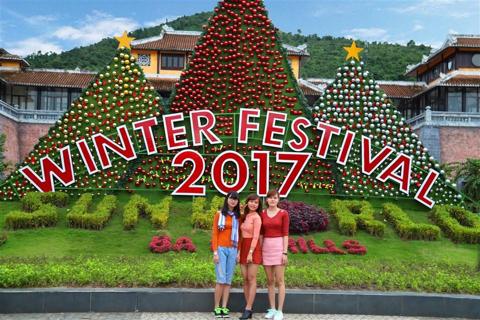 Lễ hội mùa đông rực rỡ đang chờ bạn trên đỉnh Bà Nà