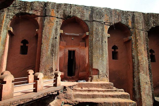 Nhà thờ đá Lalibela - kiến trúc độc đáo của Ethiopia