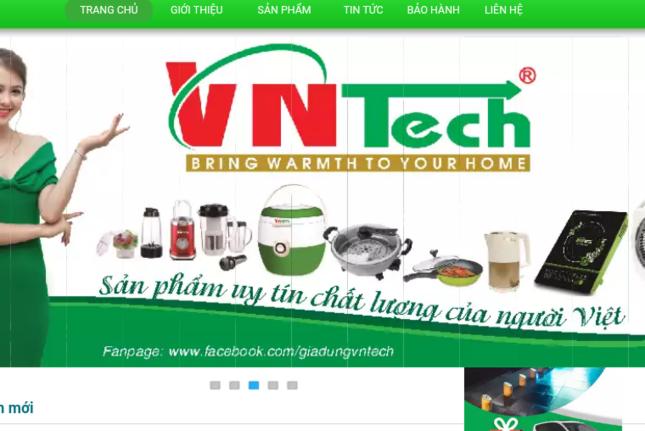 """Hàng """"Tàu"""" đội lốt mác Việt dưới thương hiệu VnTech để lừa đảo người tiêu dùng?"""
