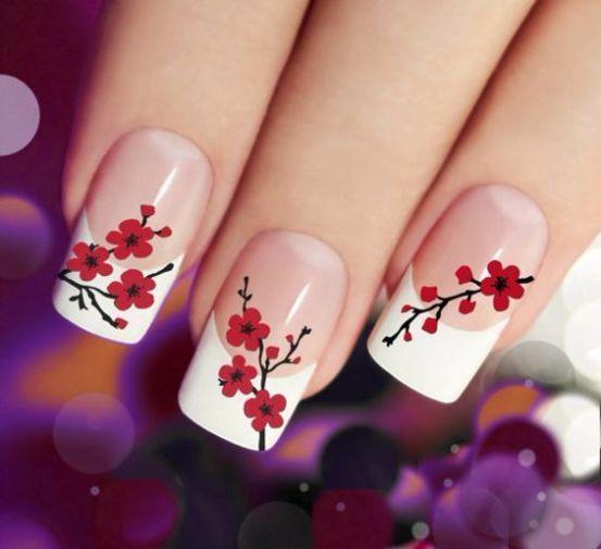 Cách vẽ những mẫu nail đẹp rực rỡ đón xuân sang