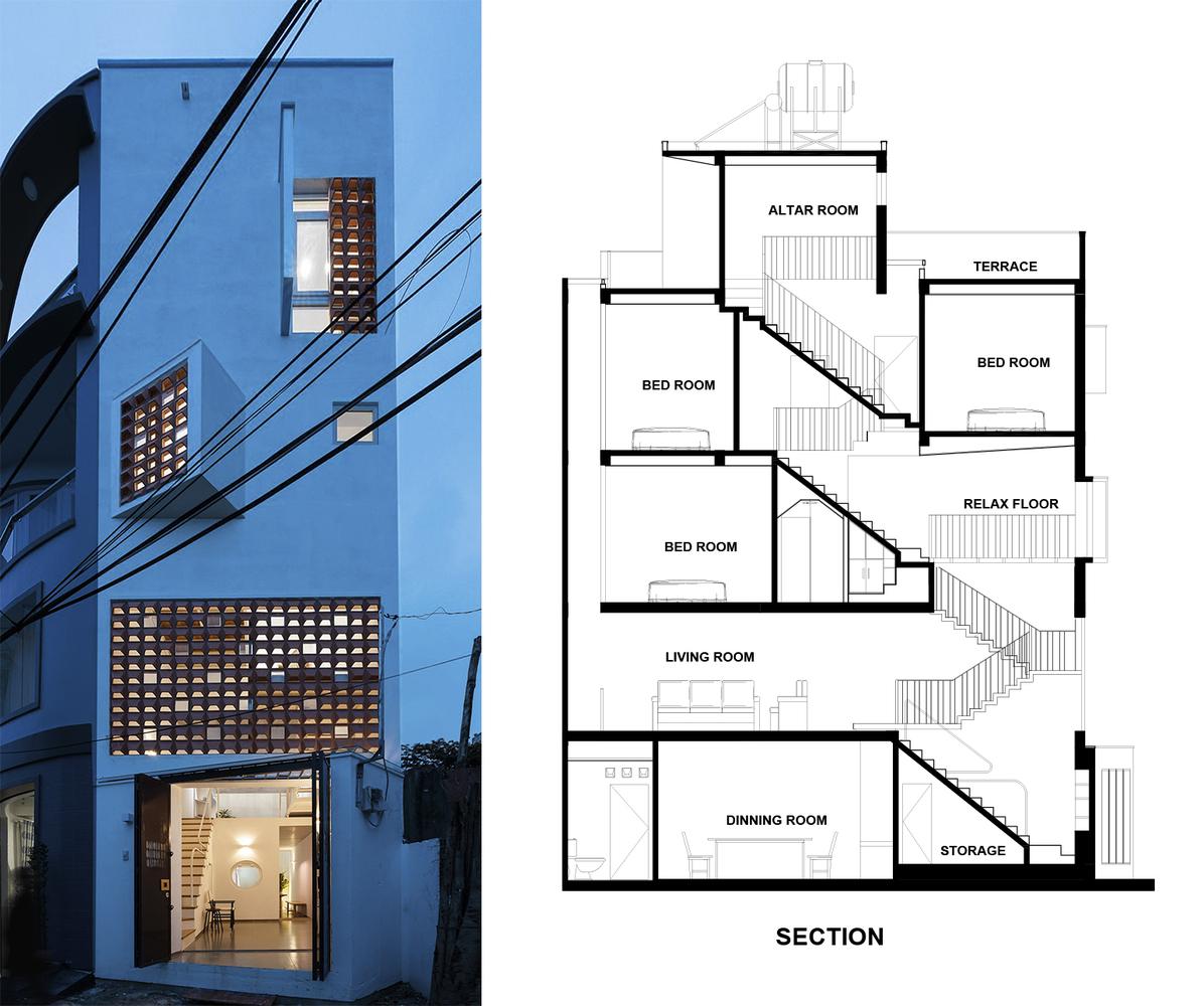 Ngôi nhà Sài Gòn đơn giản đẹp khó cưỡng trên báo Tây