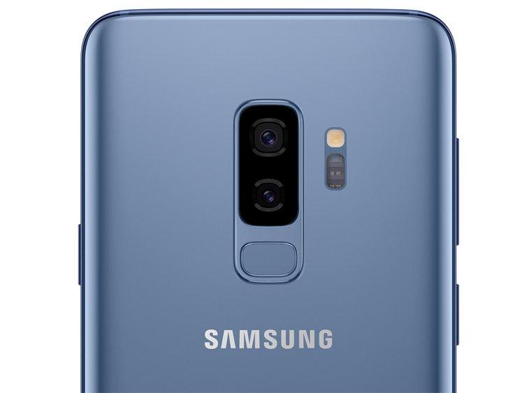 Samsung Galaxy S9+ có 2 ống kính camera.