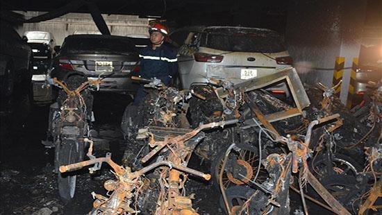 Vụ cháy chung cư Carina: Xác định danh tính các nạn nhân tử vong
