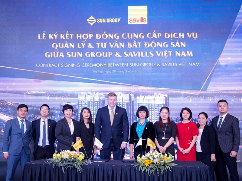 Tập đoàn Sun Group chỉ định đối tác Savills Việt Nam quản lý tổ hợp 5 sao gần Hồ Gươm