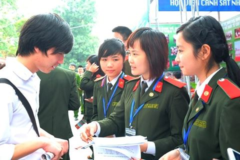Thay đổi trong chỉ tiêu tuyển sinh của các trường Công an