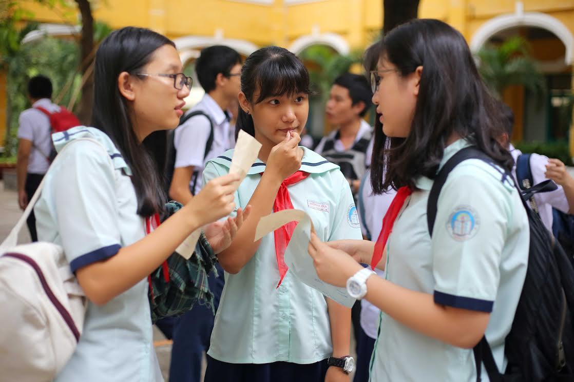 Tuyển sinh lớp 10 TPHCM: Học sinh giỏi không được cộng điểm