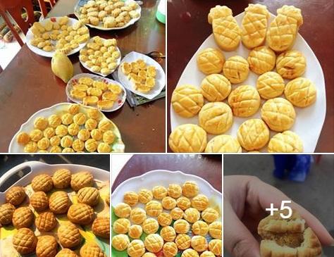 Công thức làm bánh dứa Đài Loan cực dễ ai cũng thành công