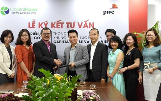 Capital House hợp tác với PwC Việt Nam