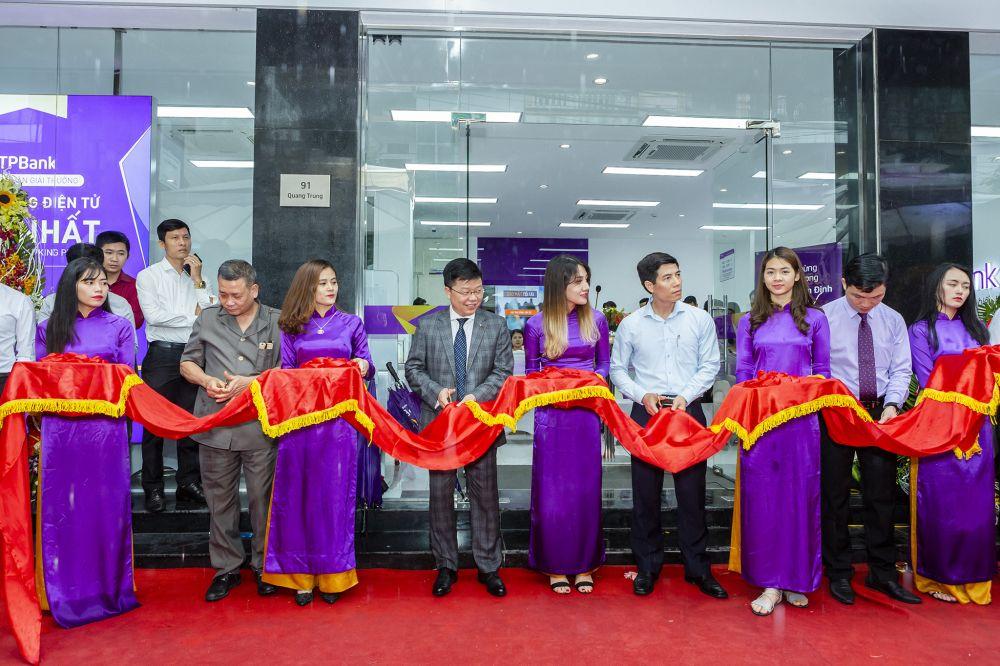 TPBank khai trương chi nhánh đầu tiên tại Nam Định