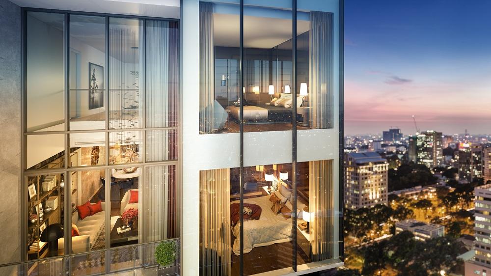 Vì sao nhà giàu thích penthouse duplex?