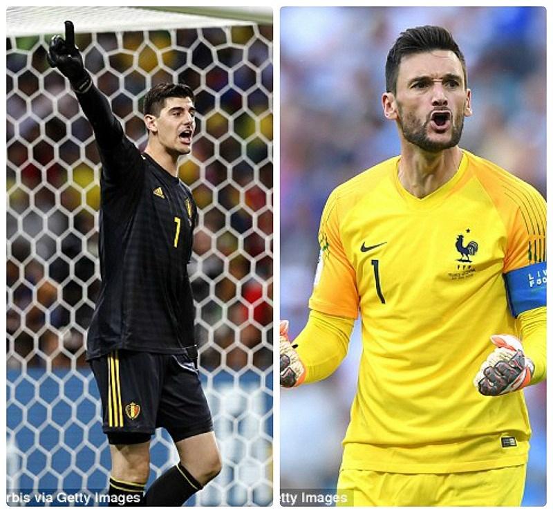 So găng các ngôi sao của hai đội Pháp Bỉ trước giờ ra sân