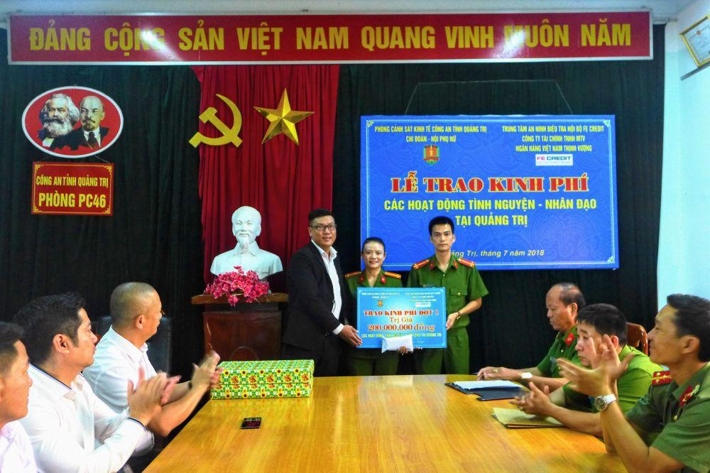 FE Credit thực hiện chuỗi hoạt động nhân tạo đầy ý nghĩa tại tỉnh Quảng Trị