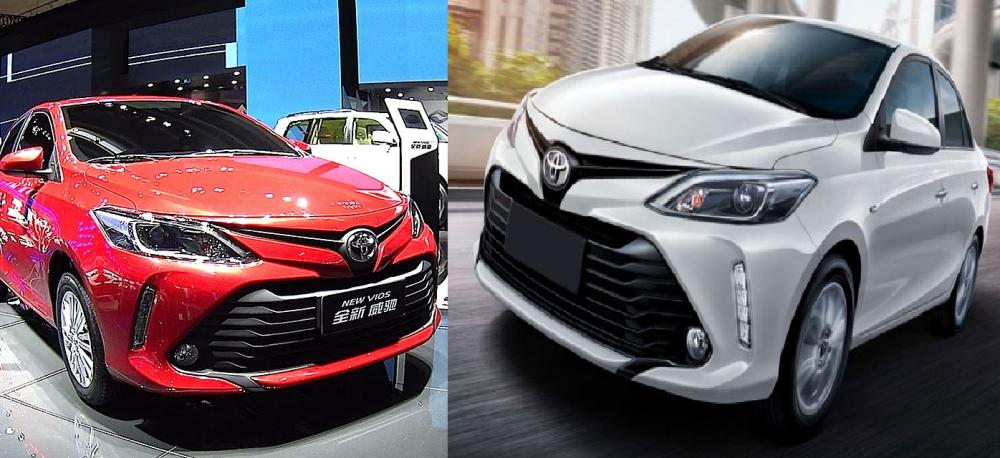 So sánh Toyota Vios phiên bản mới ra đời và phiên bản cũ