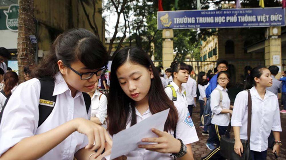 Dự thảo phương án tuyển sinh vào lớp 10 Hà Nội năm 2019