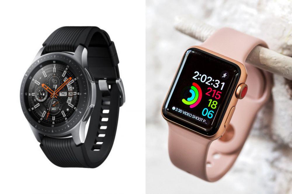 So sánh Smart Watch của Samsung và Apple